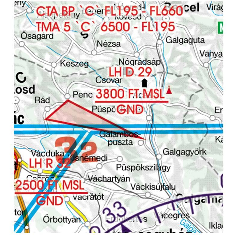 Hungary-Rogers-Data-500k-Gefahrengebiet-Luftsperrgebiet-Flugbeschränkungsgebiet-Prohibited-Restricte