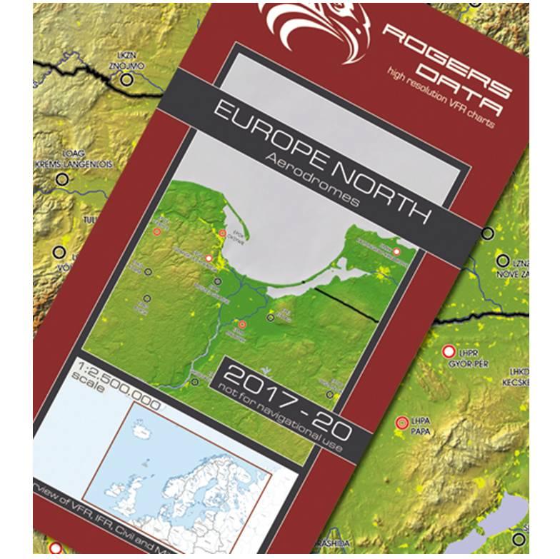 europas-flugplaetze-nord-wandkarte-vfr-ifr-zivil-militär-flugplaetze