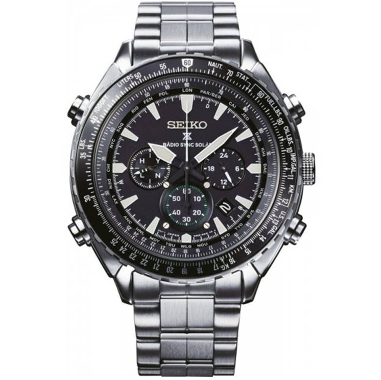 uhf bulova watches black flight large chronograph stainless princeton dial tachymeter pilot mens collections precisionist