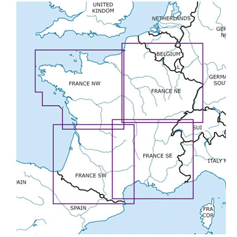 blattschnitte-frankreich-nw-ne-sw-se-icao-500k-karte-sichtflugkarte-rogers-data-2018