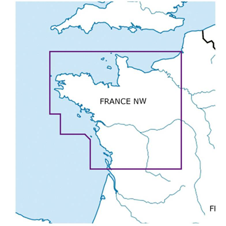 France NW chart