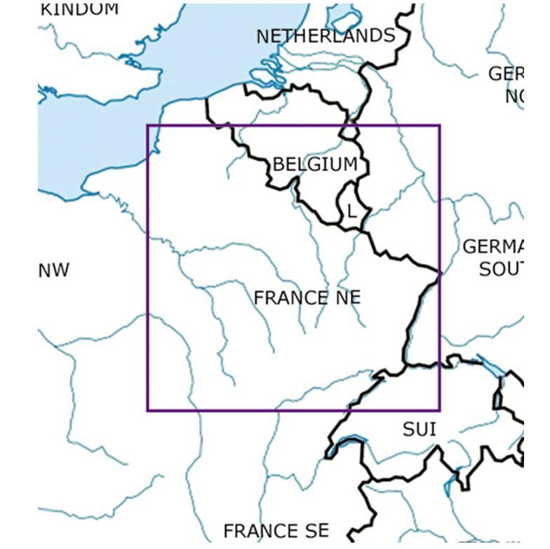 France NE chart