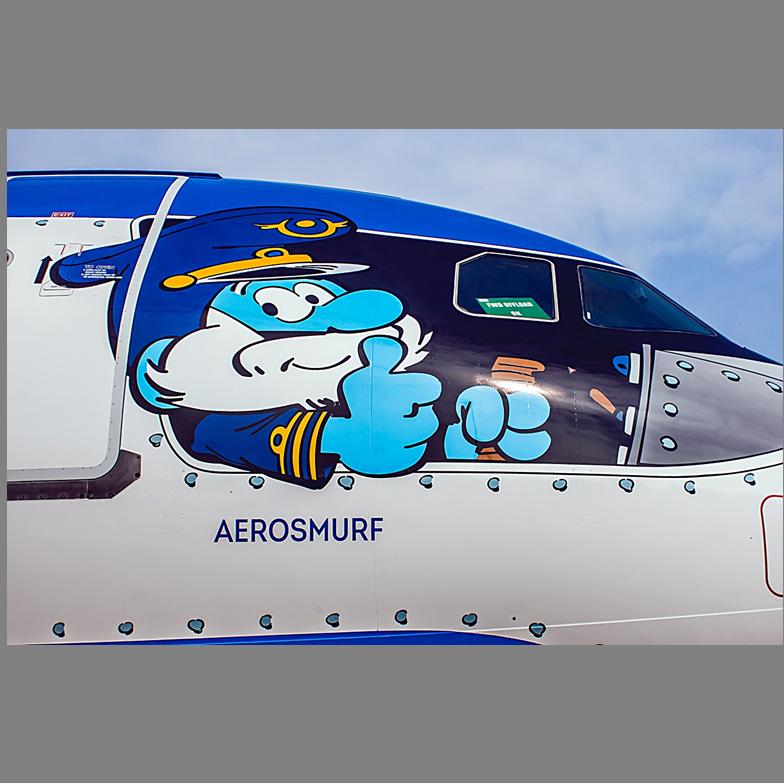 Aerosmurf - Grote Smurf