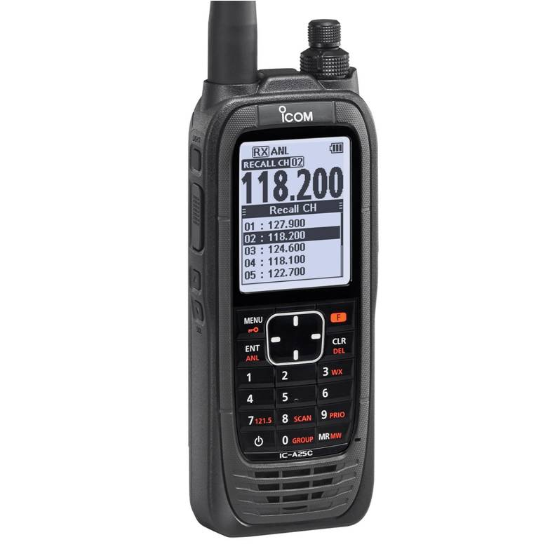 ICOM IC-A25CE portable transceiver