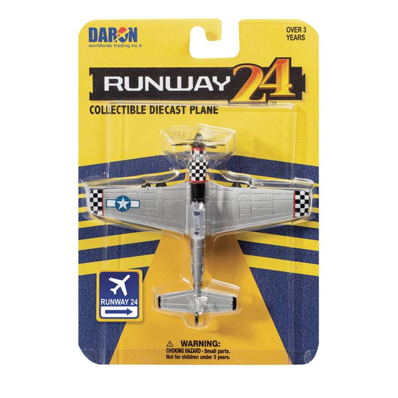 Runway 24 - P51D Silver without runway