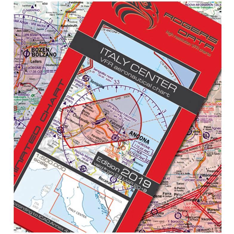 Italy-Center-VFR-Aeronautical-Chart-ICAO-Chart-500k-2019