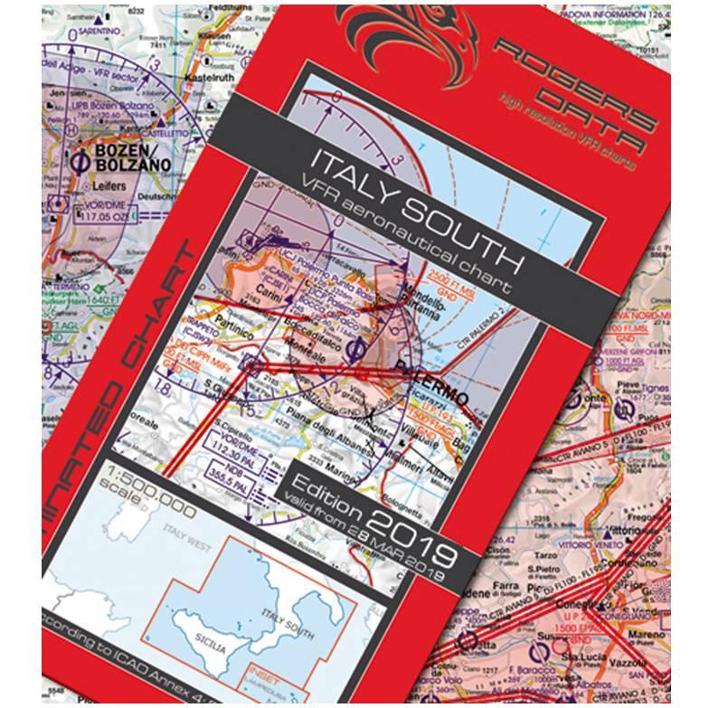 Italy-South-VFR-Aeronautical-Chart-ICAO-Chart-500k-2019