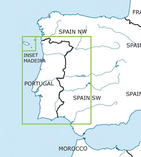Portugal-VFR-Luftfahrtkarte-–-ICAO-Karte-500k-2019