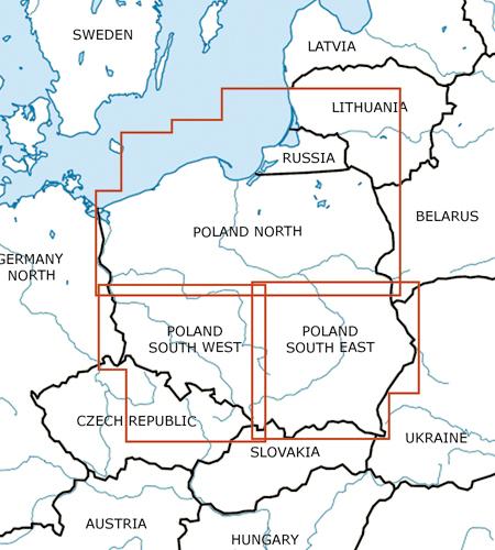 Polen-VFR-Luftfahrtkarte-ICAO-Karte-500k-2019