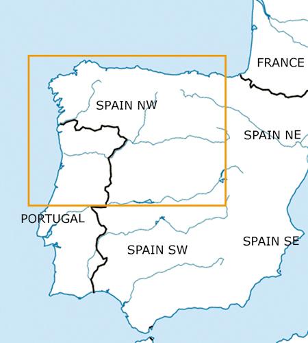 Spanien-Nord-West-VFR-Luftfahrtkarte-–-ICAO-Karte-500k-2019