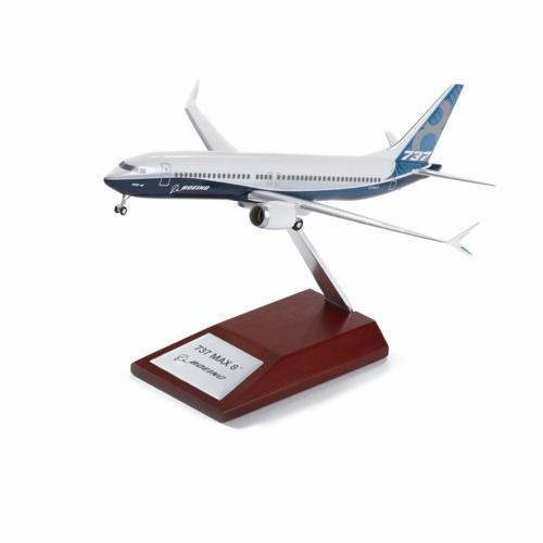 Boeing 737 MAX 8 Plastic 1200 Model