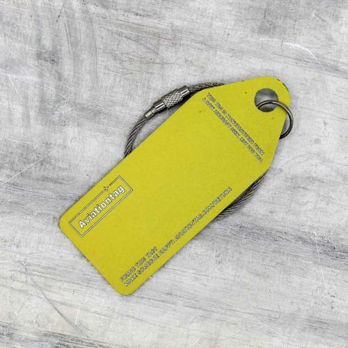Aviationtag Boeing 737 QC – G–CELR (silver) 3