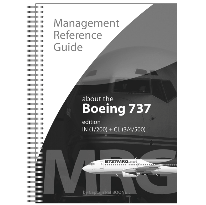 B737MRG Edition IN+CL black-white