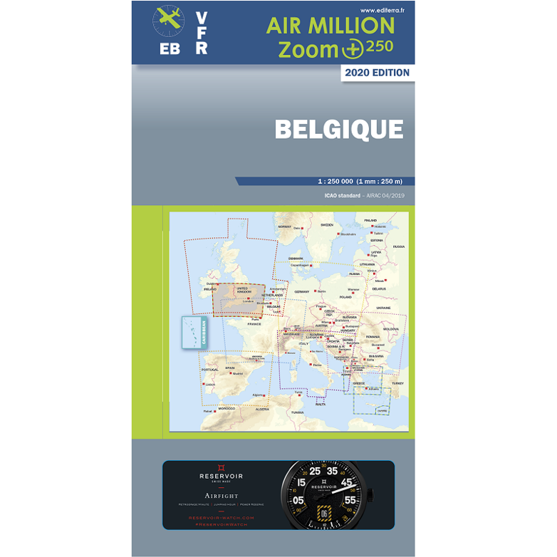 Air Million Zoom Benelux - Belgium, Netherlands and Luxembourg - 2020