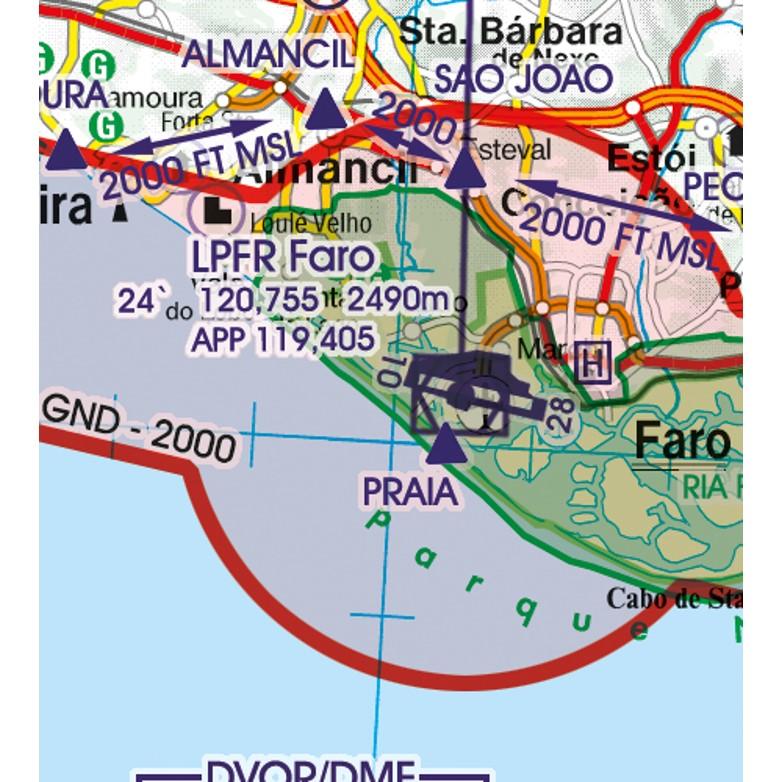 Portugal VFR Aeronautical Chart Airport