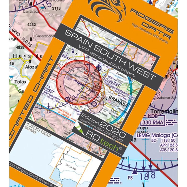 Spain South West Aeronautical Chart - ICAO chart 500k 2020.JPG