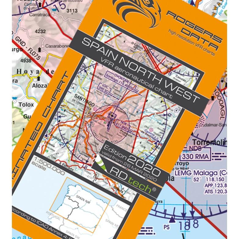 Spain North West Aeronautical Chart - ICAO chart 500k 2020.JPG