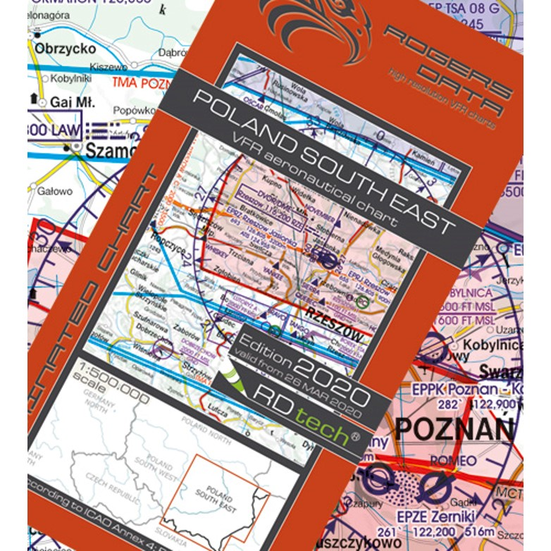 Poland South East Aeronautical Chart - ICAO chart 500k 2020.JPG