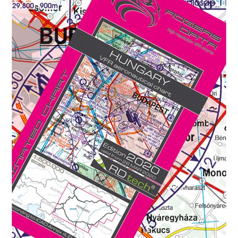 Hungary Aeronautical Chart - ICAO chart 500k 2020.JPG