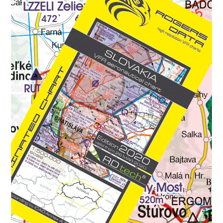 Slovakia Aeronautical Chart - ICAO chart 500k 2020.JPG