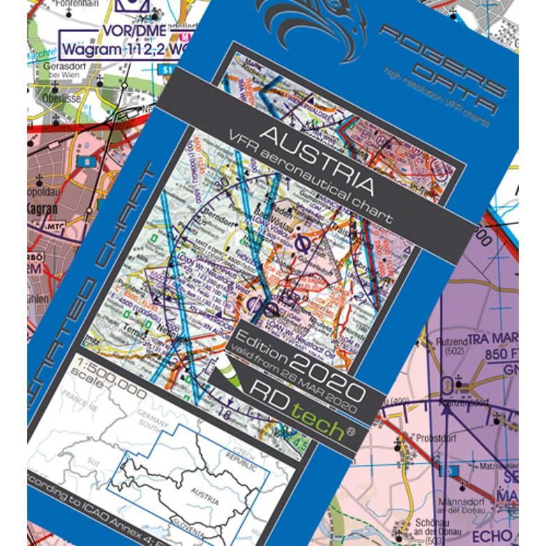 Austria Aeronautical Chart - ICAO chart 500k 2020.JPG