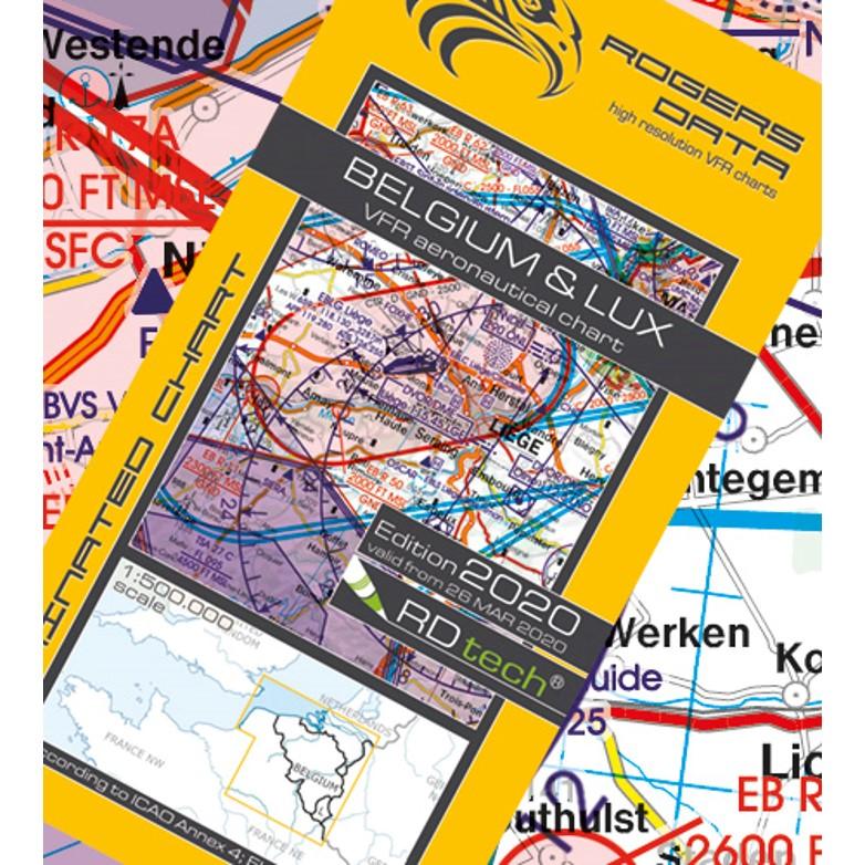 Belgium Luxembourg Aeronautical Chart - ICAO chart 500k 2020.JPG