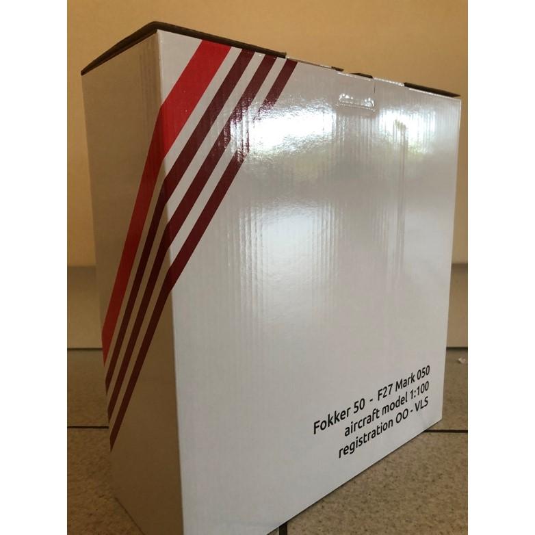 Air Antwerp scale model 100 - box back