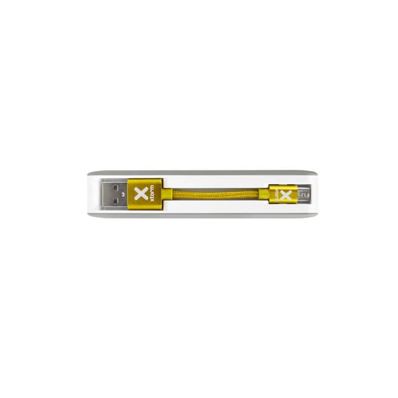XB201 zijkant usbkabel