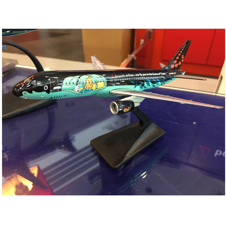 Brussels Airlines - Rackham scale model