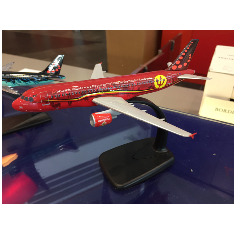 Brussels Airlines - Trident scale model