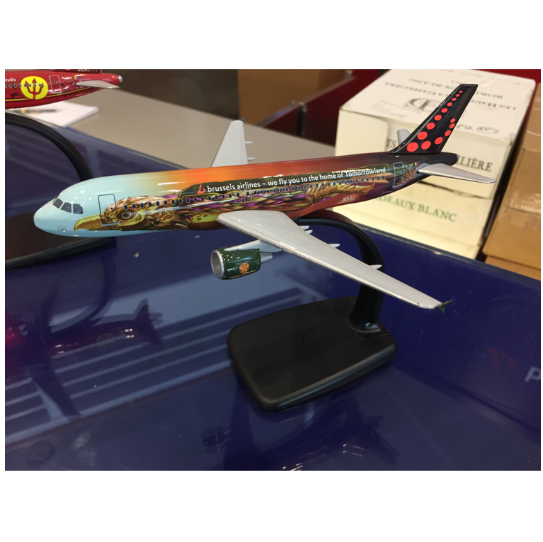 Brussels Airlines - Amare scale model